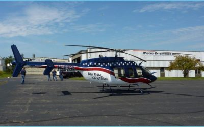 Wysong Delivers New Bell 407 to Air Evac