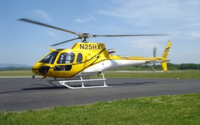 Firefighting Eurocopter AS350