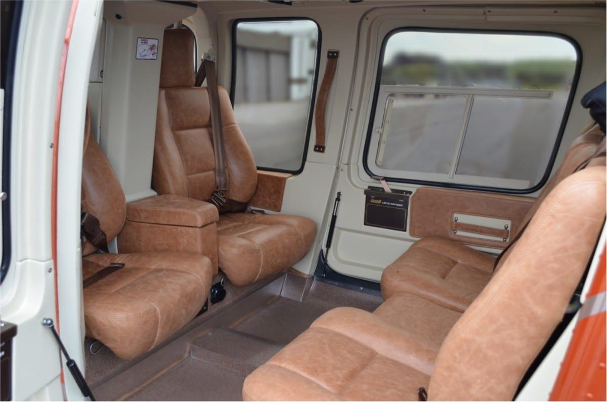 Bell 206 L3 Interior