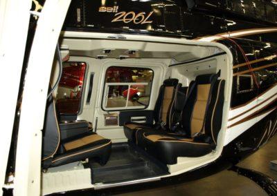 Bell 206L for Global Jet – Interior