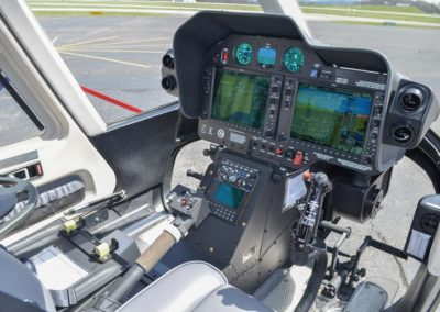 Avionics cockpit side image
