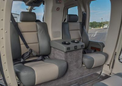 New helicopter Interior Seats