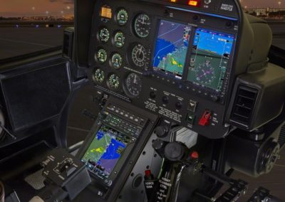 Helicopter Avionics close up