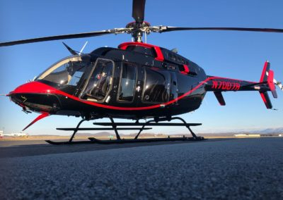 New Bell Helicopter Paint Job