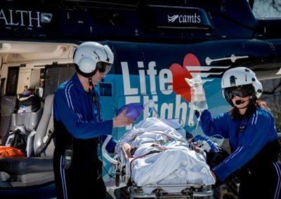 Life Flight Bell 407 Crew