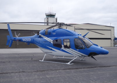 Bell 429 after new paint