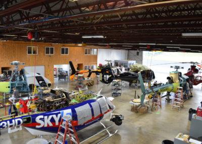 Maintenance in Hangar 3