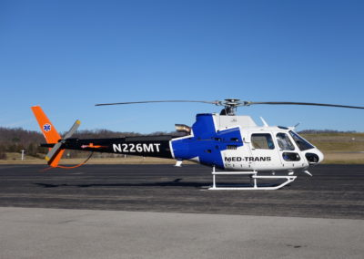 Med Trans AS350 New Paint full image