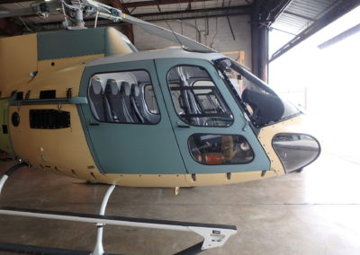 Med Trans AS350 before painting front image