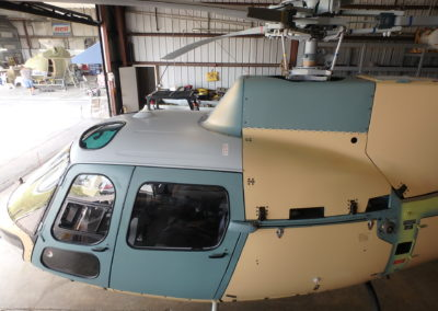 Med Trans AS350 Before Painting front