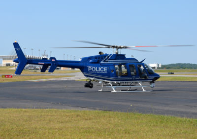 Charlotte Police Exterior Aircraft Photo