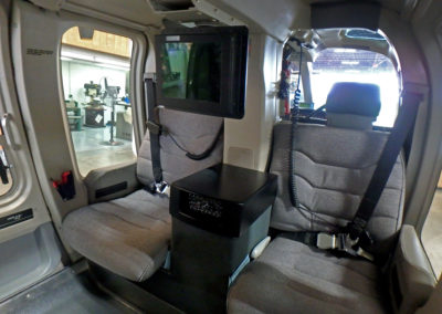 Charlotte Police Department Helicopter Interior