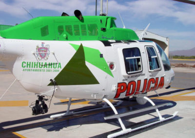 Chihuahua Police Helicopter