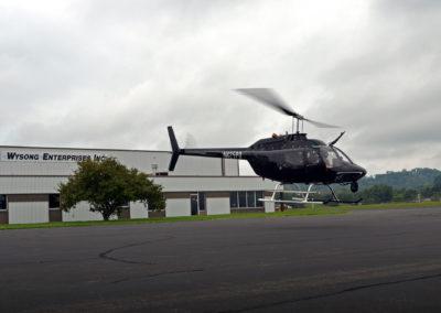 Jackson Police Bell in Flight