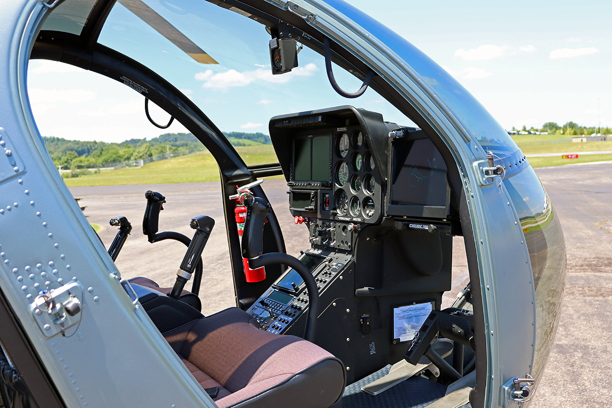 KY State Police MD 530 Interior