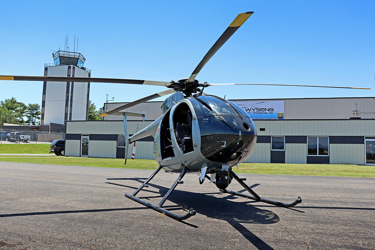 KY State Police MD 530 Nose Photo