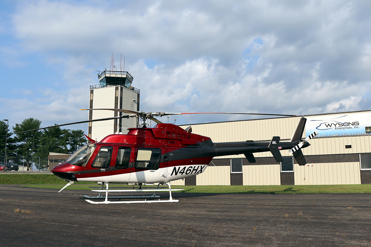 Eagle Copters 407HP Heli Express_Wysong Enterprises Completion