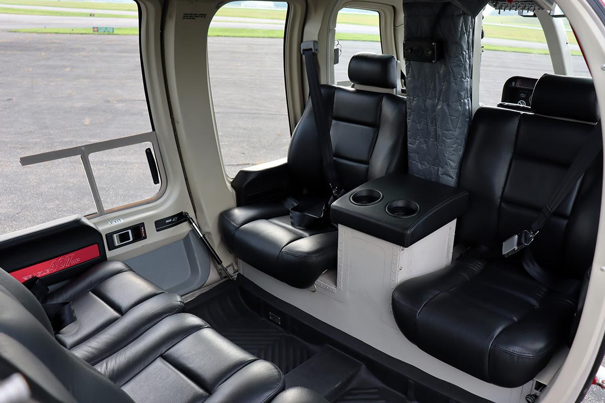 Eagle Copters 407HP Heli Express Custom Interior_