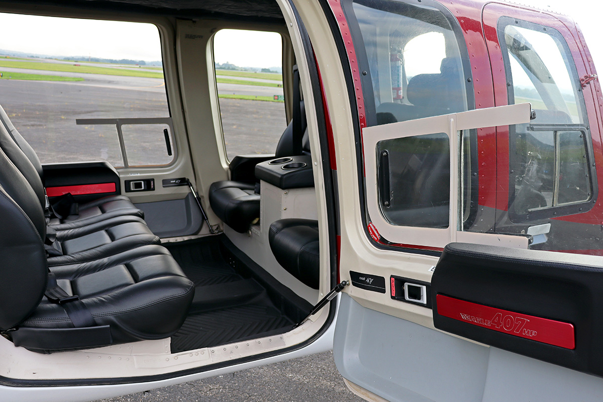 Eagle Copters 407HP Heli Express Interior_Wysong