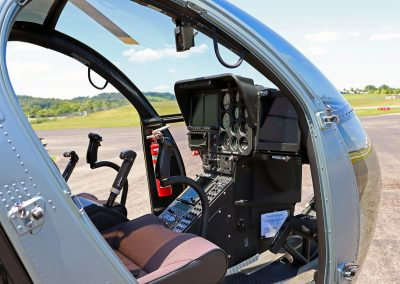 Kentucky State Police MD Helicopter Interior
